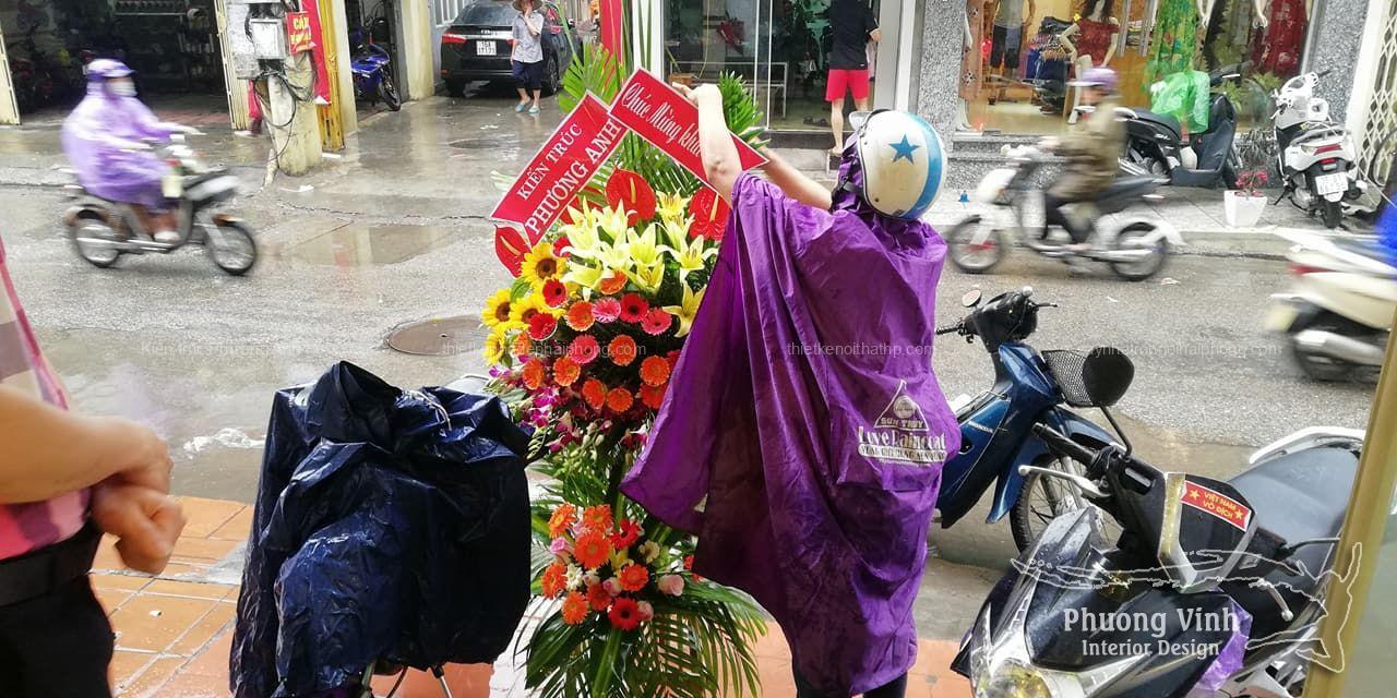 Kiến trúc Phương Anh dự khai trương shop mỹ phẩm Kiên Store
