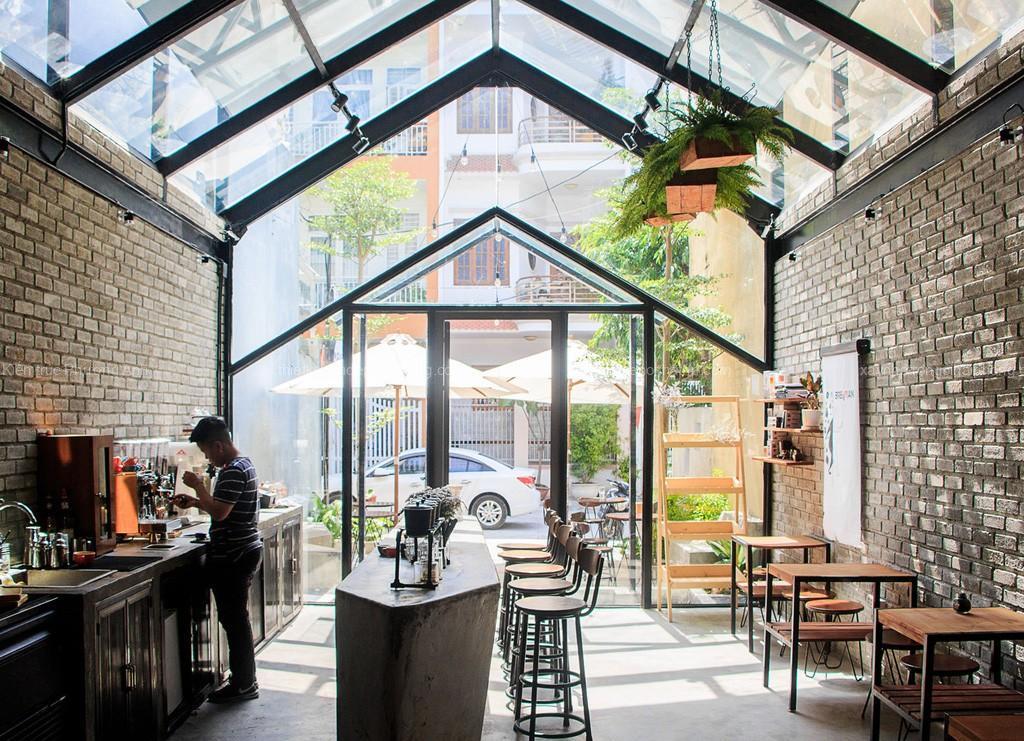 Phong cách thiết kế quán cafe độc đáo mới lạ