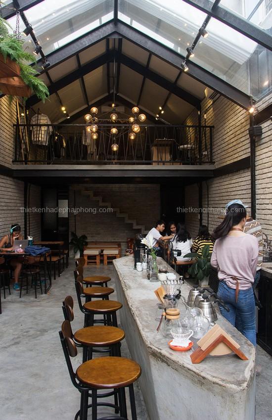 Thi công nội thất quán cafe chuyên nghiệp uy tín tại Hải Phòng