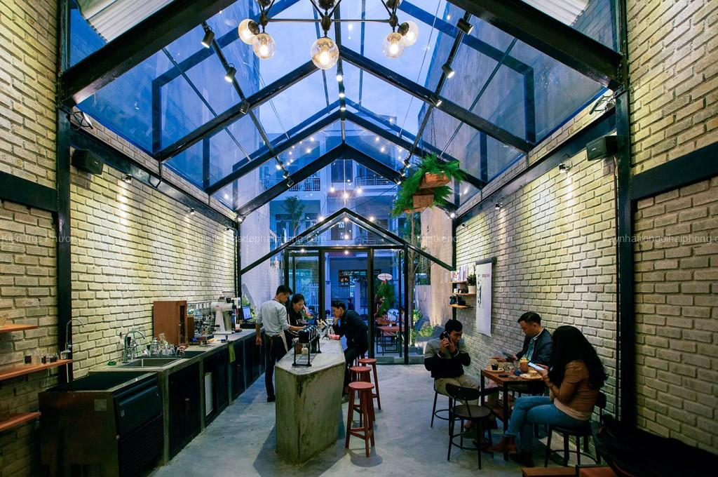 Thiết kế quán cafe đẹp độc đáo