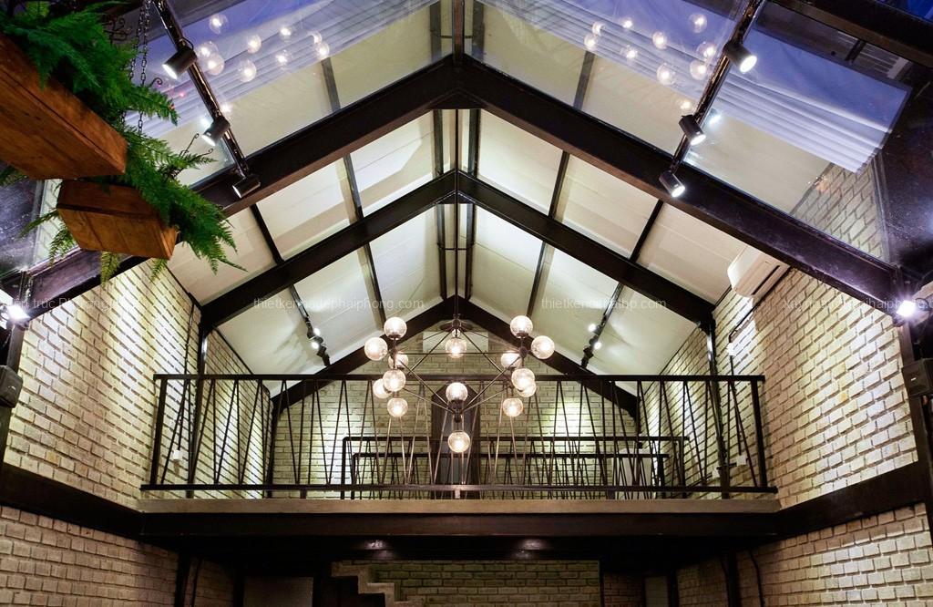 Thiết kế tầng lửng quán cafe